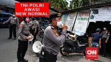 VIDEO : Ribuan Aparat TNI-Polri Awasi New Normal di Jakarta