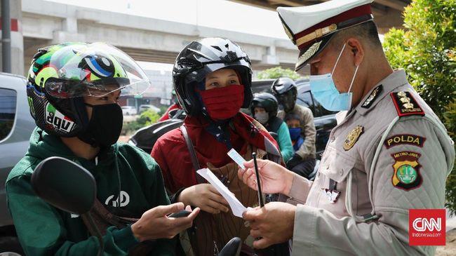 Jika ada warga yang tak memakai masker saat berkegiatan di libur panjang, Polri tidak akan menindak tegas.
