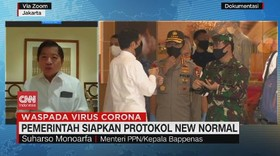 VIDEO: Pemerintah Siapkan Protokol New Normal