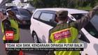 VIDEO: Tidak Ada SIKM, Kendaraan Dipaksa Putar Balik