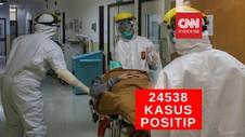 VIDEO: 24.538 Kasus Positif Covid-19 di Indonesia