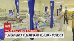 VIDEO: Tumbangnya Rumah Sakit Rujukan Covid-19