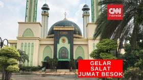 VIDEO: Besok Masjid Kota Bekasi Gelar Sholat Jumat Berjemaah