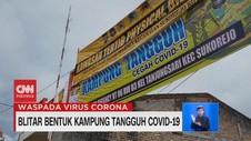 VIDEO: Blitar Bentuk Kampung Tangguh Covid-19