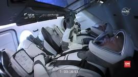 VIDEO: SpaceX Gagal Berangkat, Peluncuran Roket Ditunda