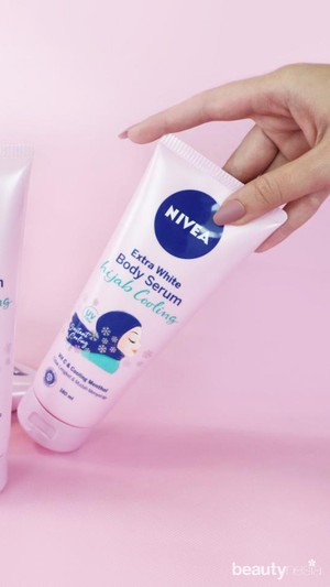 NIVEA Extra White Body Serum Hijab Cooling