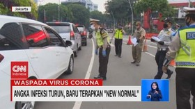 VIDEO: Angka Infeksi Turun, Baru Terapkan 'New Normal'