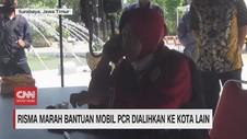 VIDEO: Risma Marah Bantuan Mobil PCR Dialihkan ke Kota Lain