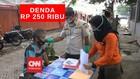VIDEO: Warung Makan Siapkan Tempat, Didenda Rp250 Ribu
