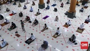 DMI Minta Pemerintah Buat Aturan soal Masjid Era New Normal