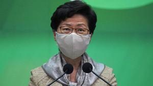 Disanksi AS, Carrie Lam Tak Bisa Buka Rekening Bank