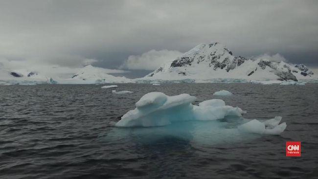 VIDEO: Lapisan Es di Antartika Bisa Mencair Lebih