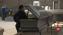 VIDEO: Pengusaha Meksiko Ciptakan Peti Mati Khusus Covid