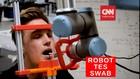 VIDEO: Pemerintah Denmark Bikin Robot Untuk Tes Swab