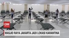 VIDEO: Masjid Hasyim Asy'ari Jakarta Jadi Tempat Karantina