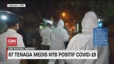 VIDEO: 67 Tenaga Medis di NTB & 135 di Jatim Positif Corona