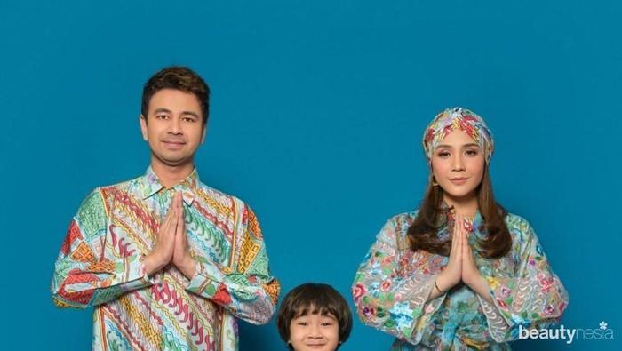Simpel Hingga Elegan, 10 Gaya Fashion Keluarga Artis Indonesia di Hari Lebaran