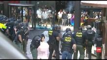 VIDEO: Demonstrasi George Floyd, Kantor Pusat CNN Rusak