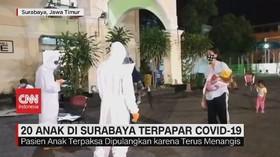 VIDEO: 20 Anak di Surabaya Terpapar Covid-19