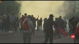 VIDEO: Demo Kecam Kematian George Floyd Menyebar ke Kota Lain