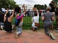 Demonstrasi Kasus George Floyd, Gedung Putih Sempat Lockdown