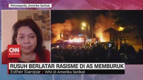 VIDEO: Rusuh Berlatar Rasisme di AS Memburuk