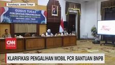 VIDEO: Klarifikasi Pengalihan Mobil PCR Bantuan BNPB