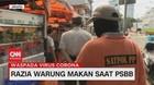 VIDEO: Razia Warung Makan Saat PSBB