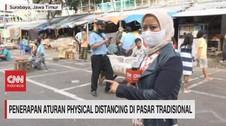 VIDEO: Aturan Physical Distancing di Pasar Tradisional