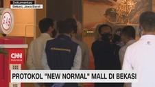 VIDEO: Protokol 'New Normal' Mall di Bekasi