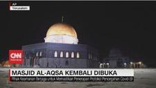 VIDEO: Masjid Al-Aqsa Kembali Dibuka