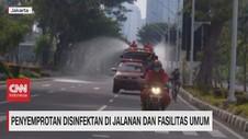 VIDEO: Penyemprotan Disinfektan di Jalanan & Fasilitas Umum