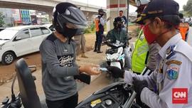 21 Ribu Kendaraan Tanpa SIKM Ditolak Masuk Jakarta