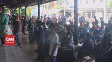 VIDEO: Malaysia Deportasi Ratusan Pekerja Migran Indonesia