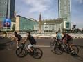 Ramai Pesepeda di HI, Satpol PP Klaim Langsung Bertindak
