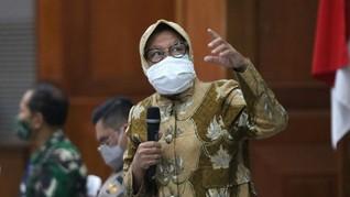 Risma Usul ke Khofifah Agar Tak Perpanjang PSBB Surabaya