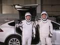 FOTO: Mobil Listrik Tesla Terlibat Peluncuran SpaceX