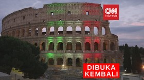VIDEO: Colloseum Roma Kembali Dibuka
