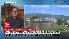 VIDEO: Wagub Bali: Pariwisata Domestik Dibuka Pada Juli 2020