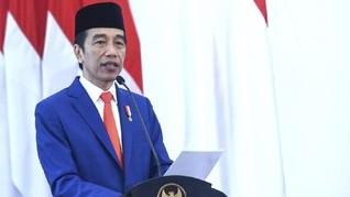Jokowi Terima Surat Kepercayaan 7 Dubes untuk Indonesia