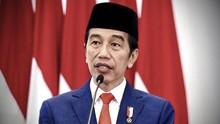 Jokowi Lantik 750 Perwira TNI-Polri 2020