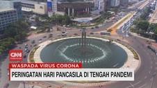 VIDEO: Peringatan Hari Pancasila di Tengah Pandemi