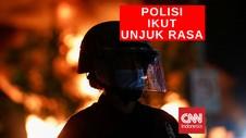 VIDEO: Polisi Bergabung Dengan Pengunjuk Rasa