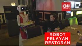 VIDEO: Robot Pelayan Restoran