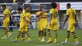 FOTO: Pesta Gol di Paderborn vs Dortmund