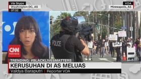 VIDEO: Kerusuhan di AS Meluas