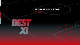 Best XI Bundesliga: Hazard-Lewandowski-Sancho di Lini Depan