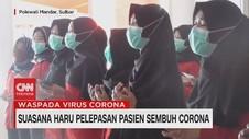 VIDEO: Suasana Haru Pelepasan Pasien Sembuh Corona