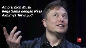 VIDEO: Elon Musk Pernah Berambisi Kirim Orang ke Luar Angkasa