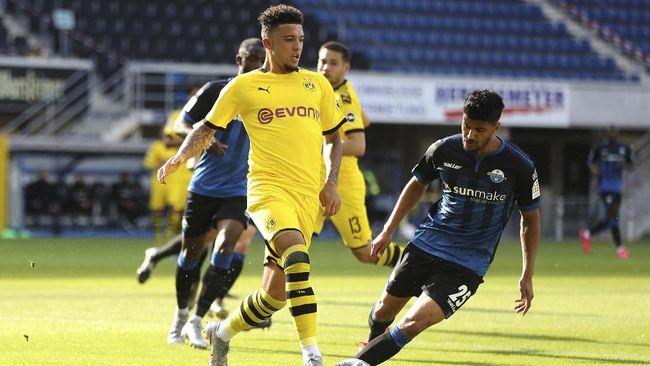 MU sangat dekat untuk mencapai kesepakatan dengan Dortmund yang mematok harga 108 juta poundsterling untuk Jadon Sancho.